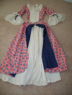 138afdeba Betsy Ross Independence July 4th Halloween by Dixiecouture82, $35.99