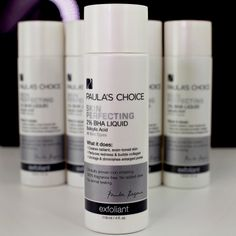 Shrink enlarged pores with Skin Perfecting 2% BHA Liquid, a salicylic acid leave-on exfoliant that removes old skin cells both on the skin's surface and inside the pore. #PaulasChoice