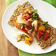 Low-Calorie Bruschetta Planks
