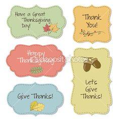 Marcos de acción de Gracias — Ilustración de stock #35556483
