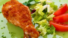 Juicy Moist Oven Fried Chicken. If you have trouble with chicken, give this recipe a try as the high temperature cooking keeps the pieces super juicy.