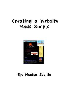 TeacherLingo.com $4.99 - Creating a Website Made Simple is a guide that will teach you how to create a teacher website for your classroom. Create a website to post important information for your students such as lessons, assignments, resources and allow your students to access the
