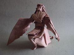 Icarus by Hojyo Takashi folded by me by Shikigami no Mai