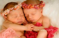Fairy Blush & Full Bloom Pink TWIN SET Baby Girl by MadAboutColour, $20.00