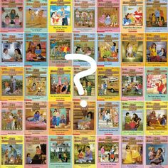 The Plot Of Every Original 'Baby-Sitters Club' Book, Based On The Covers