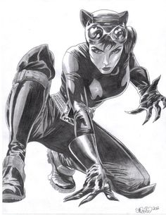 Catwoman by Nicole Marie Lenz (finally, a nice, normal looking picture of catwomen)