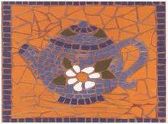 mosaico Mosaic Ideas, Mosaic Designs, Tea Pots, Turtle, Coasters, Diy And Crafts, Sweet Home, Gift Ideas, Photos