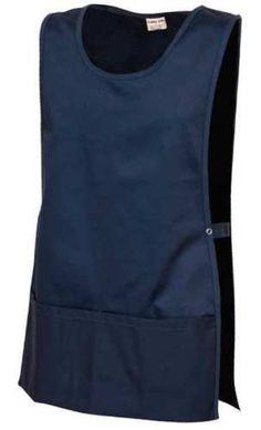 Fashion-Seal-64184-L-Unisex-Apron-Cobbler-L-Navy