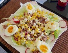 Chefsalat mit Thunfisch, ein sehr leckeres Rezept aus der Kategorie Eier & Käse. Bewertungen: 27. Durchschnitt: Ø 4,1.