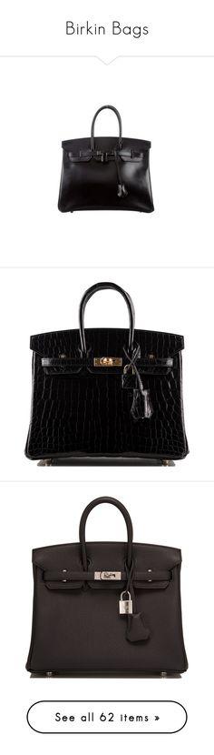 """Birkin Bags"" by bleubeauty1 on Polyvore featuring bags, handbags, square handbags, locking purse, genuine leather purse, hand bags, real leather handbags, zip bag, crocodile handbags and zipper purse"