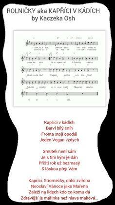 Písnička - parodie na rolničky