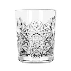 Hobstar Glass Retro Cocktail and Whisky Tumbler Libbey