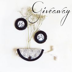 Inspired by the beautiful music the playful beat the little bird in the tree the magic of creativity  the sparkling in the water We offer you : 'I love the music Giveaway' Where you can win this pair of music note sequin earrings by @velanch and an embroidered earphone holder by @kuskatstudio (earphone not incl.) ------------------------------------ How to enter this giveaway? ------------------------------------ 1 Like this picture on Instagram at @velanch or @KusKatStudio 2 Follow @velanch…