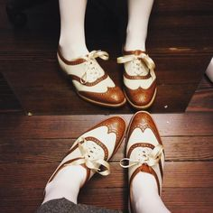 Alice, a full brogue, wingtip oxford shoe with punched medallion on the toe and a one off counter and collar design, made from the finest calf leather and bark tanned leather soles. From the Ladies Collection.