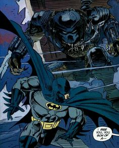 ✭ Batman vs Predator
