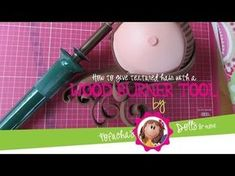 How to make textured hair with a wood burner tool - Fofucha Doll - YouTube