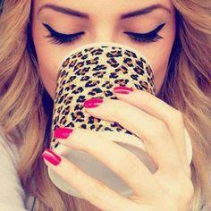 Cheetah mug <3