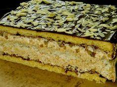 Domowe ciasta i obiady: Ciasto Migdałowy Dziadek