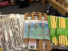 GlassDharma glass straws at The Feel Good Store in Canada! (Shown with other reusable straws.)