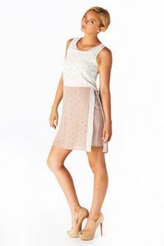 #salediem #springwardrobe #springdresses #ldress C. Luce  Two toned Dress