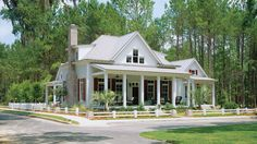 4) Cottage of the Year,Plan #593 | Celebrating over 30 years of offering exclusive custom designed homes, here's a look at some of the most popular plans offered by Southern Living House Plans. From the very first issue of Southern Living, the magazine has featured and sold house plans. These architectural drawings give readers access to some of the South's top architects, allowing you to build a custom home at an affordable price. While styles and trends may change over the years, we've…
