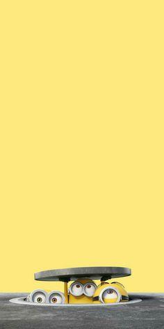 Cute Minions Wallpaper, Minion Wallpaper Iphone, Disney Phone Wallpaper, Cute Cartoon Wallpapers, Wallpaper Space, Cute Wallpaper Backgrounds, Galaxy Wallpaper, Dont Touch My Phone Wallpapers, Anime