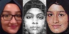 The three British schoolgirls escape from ISIS