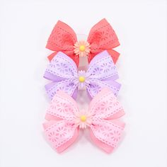 Items similar to Spring Hair Bow Toddler Hair Bows Ponytail Hair Bow Pink Flower Hair Bow Easter Hair Bow Purple Ponytail Bow Summer Ponytail Bow Peach Pink on Etsy Diy Ribbon, Ribbon Hair, Ribbon Bows, Summer Ponytail, Bow Ponytail, Flower Hair Bows, Flowers In Hair, Spring Hairstyles, Ponytail Hairstyles
