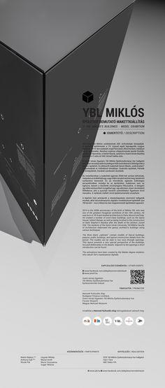 Ybl épületeit bemutató makettkiállítás // 2014 on Behance