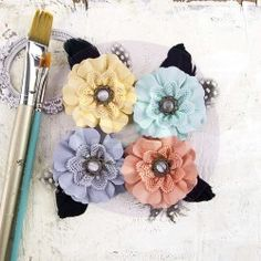 Epiphany - Discovery - FLOWERS - Prima .. to go with the papers + more flowers