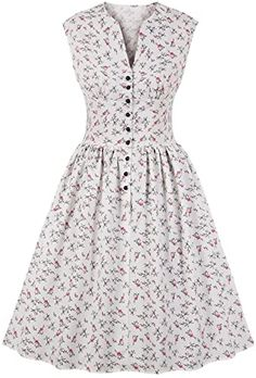 Amazing offer on Sexy Elegant Vintage Bandage Women Sleeveless Floral Print Button Strapless Shoulder High Waist Swing Dress online – Liketopclothing – Uñas Coffing – Maquillaje – Peinados – Moda – Zapatos – Moda masculina – Maquillaje de ojos – Trenzas – Elegant Dresses, Casual Dresses For Women, Pretty Dresses, Sexy Dresses, Summer Dresses, Formal Dresses, Wedding Dresses, Awesome Dresses, Short Dresses