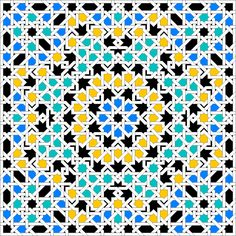 Interlacing pattern from the Alhambra Palace