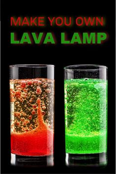 Experiment For Kids: Make Your Own Lava Lamp