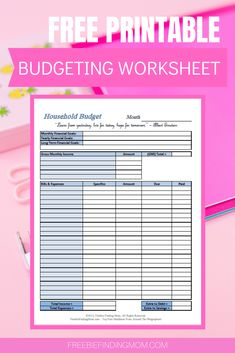 Use these free printable budget worksheet templates to keep your family's finances on track! Printable Budget Sheets, Printable Budget Worksheet, Budgeting Worksheets, Free Printable Stickers, Printable Labels, Free Printables, Freebies By Mail, Saving Ideas, Saving Tips