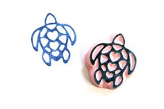 Turtle Love Hand Carved Rubber Stamp by SweetSpotStampShop on Etsy, $7.99
