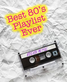Best 80's Music Playlist - Over 400 songs! Lots of New Wave, Pop, Rock Music #80s #Playlist #Spotify