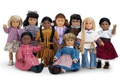 I have 3 American girl dolls!