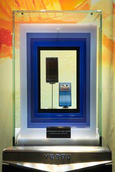 VERTU Window Display   Aster, 2014 by Millington Associates