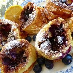 "Blueberry Popovers | ""This special popover recipe will add a lot of flavor to your next brunch."""