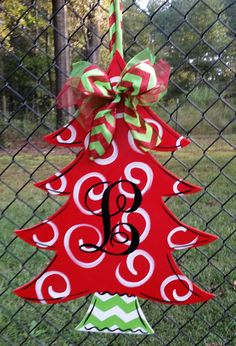 Hey, I found this really awesome Etsy listing at https://www.etsy.com/listing/243180676/christmas-tree-with-monogrammed-initial