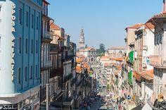 Rua 31 de Janeiro y torre de los clerigos