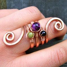 Five Seed:  Copper Ring...I so love this!!