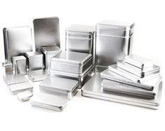 Blechdosen für Gebäck mit Lebensmittelzertifikat