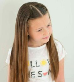 Keeping it simple with a headband braid with a little bit of a different parting. Baby Girl Hairstyles, Princess Hairstyles, Pretty Hairstyles, Braided Hairstyles, Girl Hair Dos, Toddler Hair, Hair Looks, Hair Inspiration, Short Hair Styles