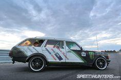 Diesel Fury: The Black Smoke Wagon - Speedhunters Mercedes Benz 300, Drifting Cars, Midnight Sun, Black Smoke, First Car, Jdm, Diesel, How To Memorize Things, Friends