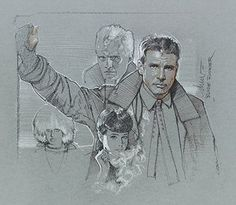 Blade Runner sketch by Drew Struzan