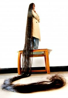 Meet Woman With World's Longest Hair In 2013 At Length 14 Feet, Dai Yueqin (Pictures) | Nollywood, Nigeria, News, Celebrity, Gists, Gossips,...