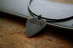 Copper Nirvana Guitar Pick Necklace