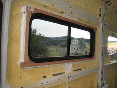 ProMaster DIY Camper Van Conversion -- Adding Windows
