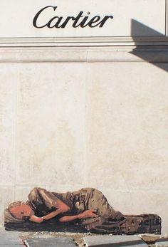Michael Aaron Williams, Homeless in Paris - unurth | street art
